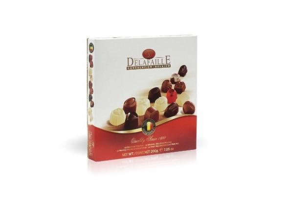 Čokoládové belgické pralinky