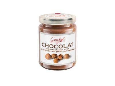 Čokoládový krém s lískovými oříšky