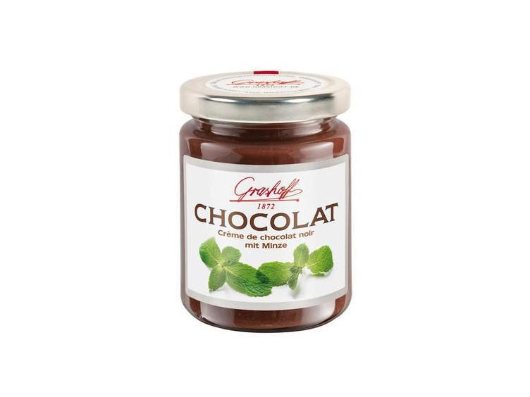 Čokoládový krém s mátou