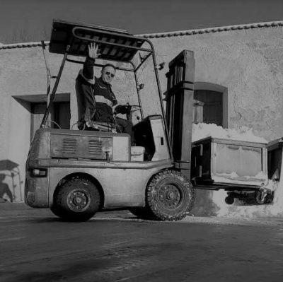 Správce skladu a strážce balíčků – Vladan