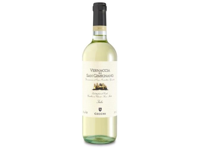 Bílé víno Vernaccia