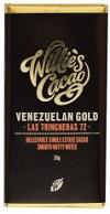 Baby Willie's Cacao Las Trincheras Gold 72% hořká čokoláda 26g