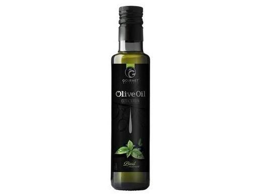 Bazalkový olivový olej