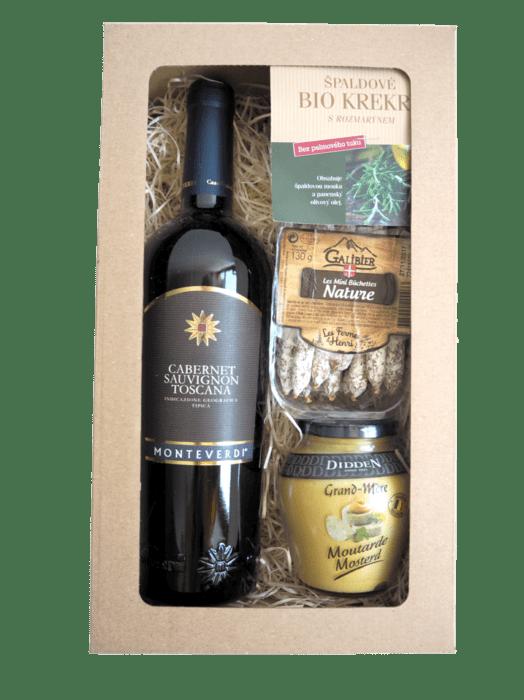 Dárkový balíček Cabernet Sauvignon Toscana