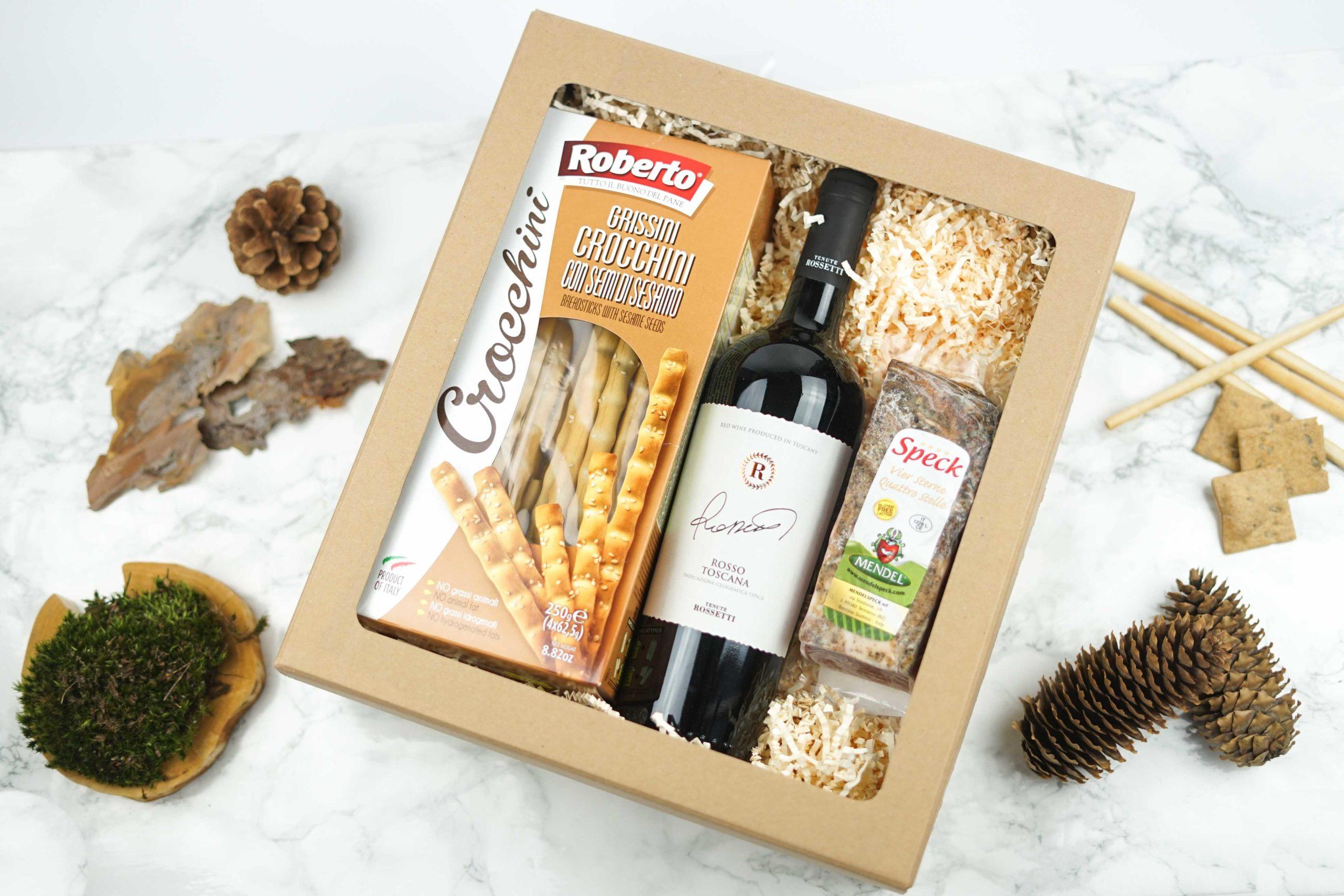 Dárková krabička Rosso Toscana