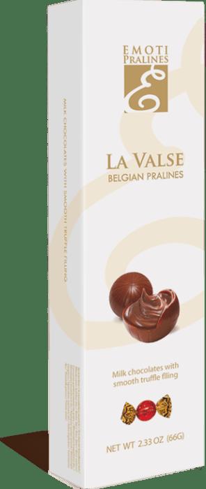 Pralinky z mléčné čokolády s lanýžovou naplní