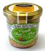 Confit z vepřových jater s paprikou a olivami, 90g