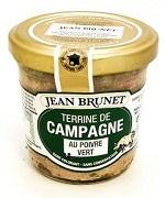 Jean Brunet Farmářská terina se zeleným pepřem, 90g