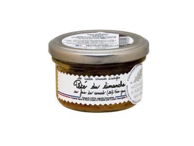 Sunday terrine with foie gras