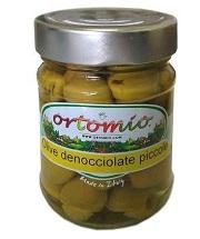 Zelené olivy bez pecek se vyznačují značnou velikostí a vysokou výtěžností. Sběr probíhá v polovině měsíce října. Mají ovocnou chuť a pevnou dužninu a krásnou zelenou barvu. Jsou vhodné k aperitivu.