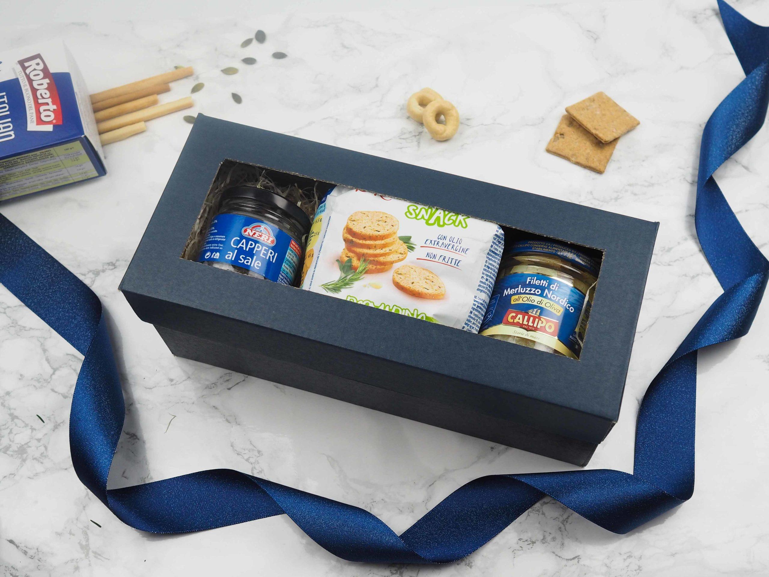 Dárková krabička Blue Capari
