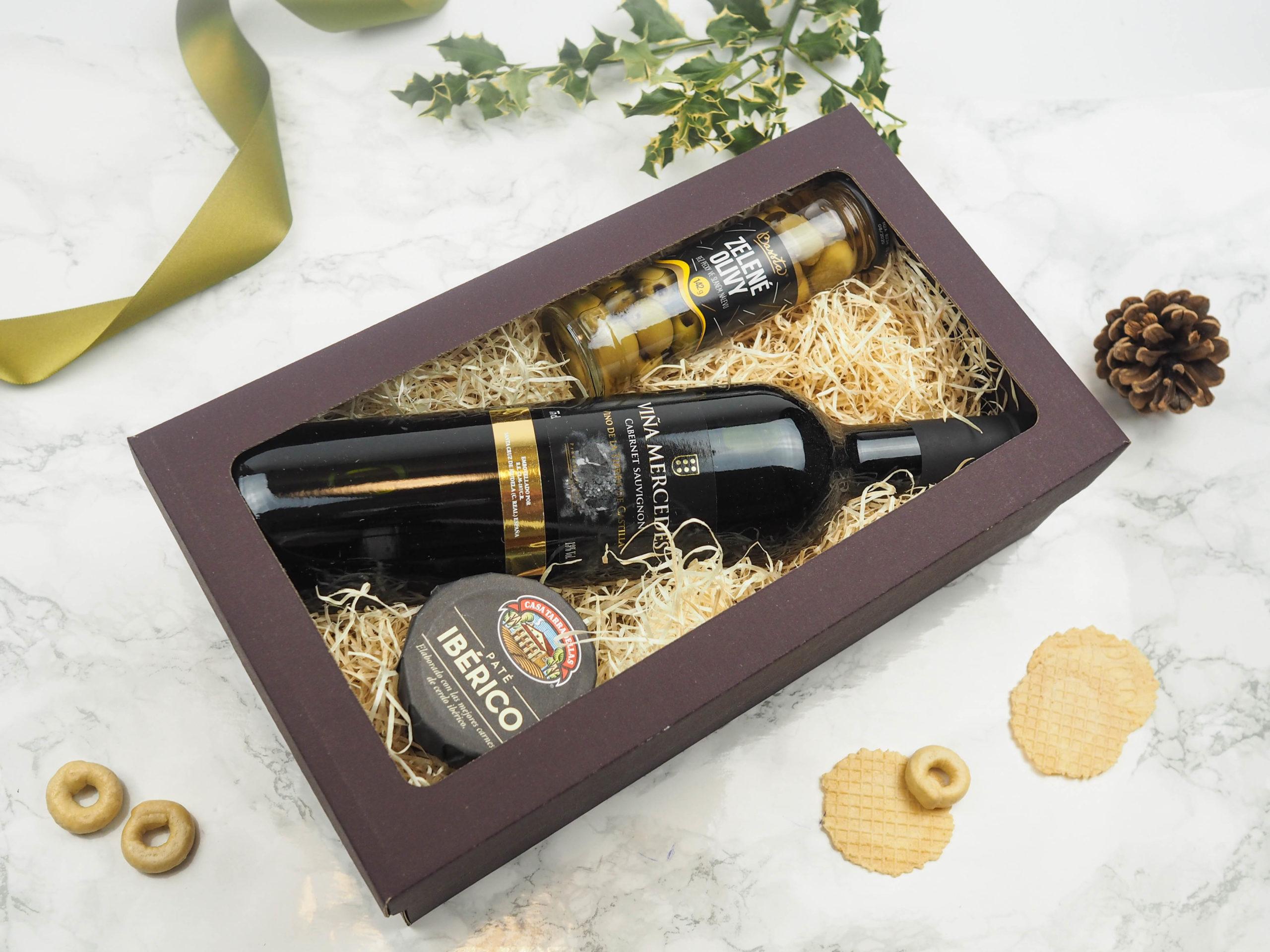 Dárková krabička Viňa Olive