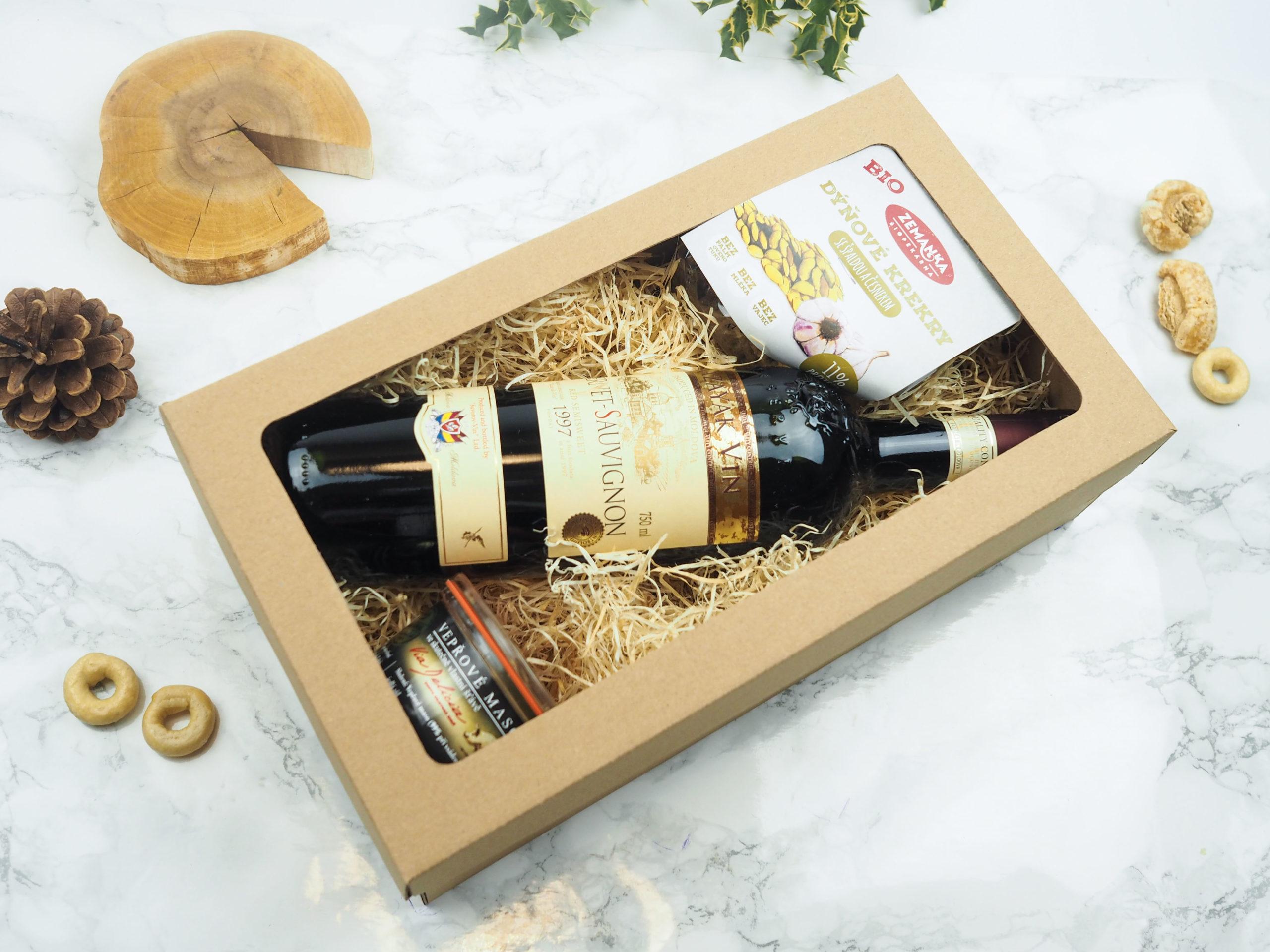 Dárková krabička Chvíle na vinohradu