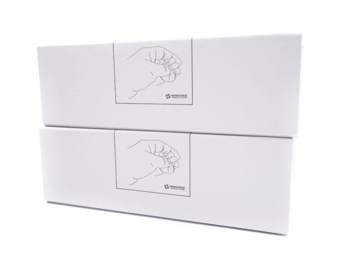 Potahovaná krabice s magnetickým víkem