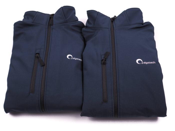 Reklamní textil - nepromokavé bundy s potiskem