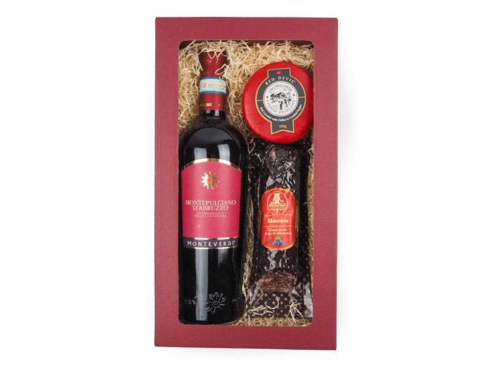 Dárková krabička Red Abruzzo