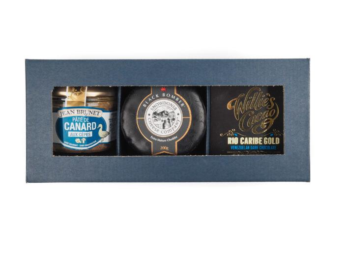 Dárková krabička Blue Bomber