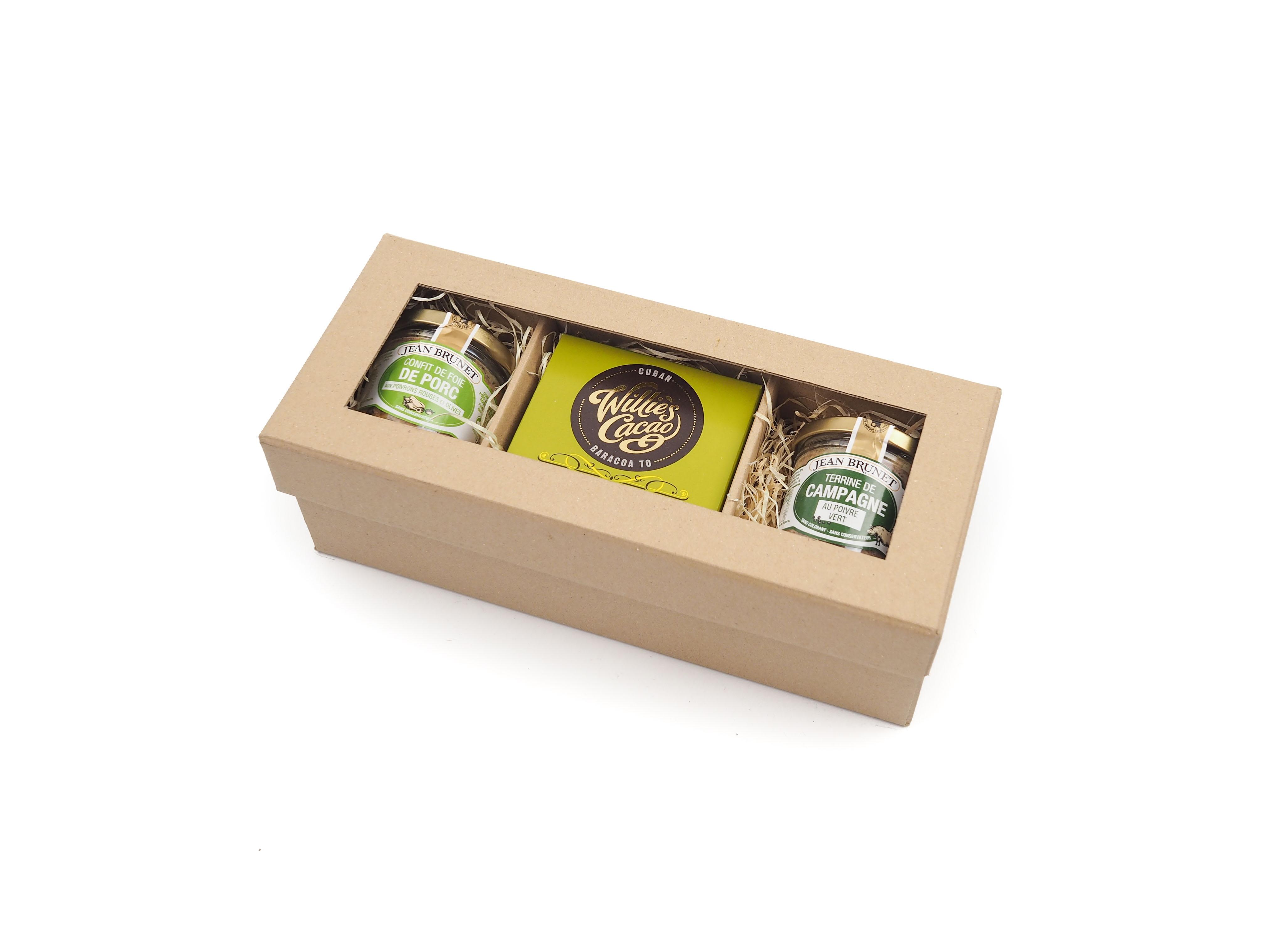 Dárkový balíček Francouzské teriny s 70% čokoládou