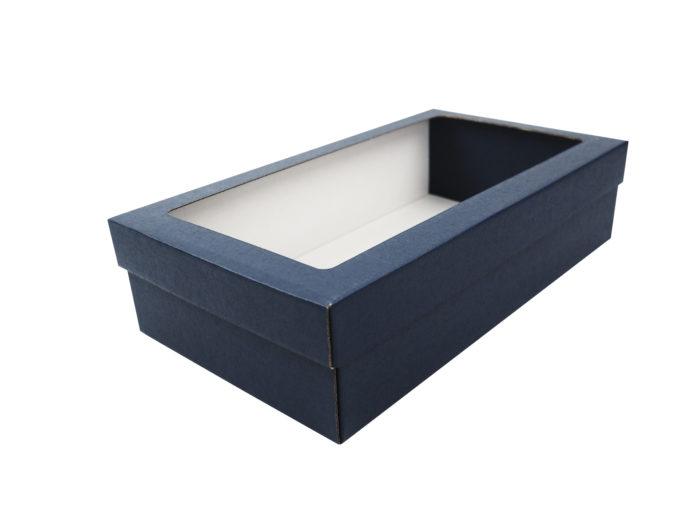Modrá krabice na 2 vína