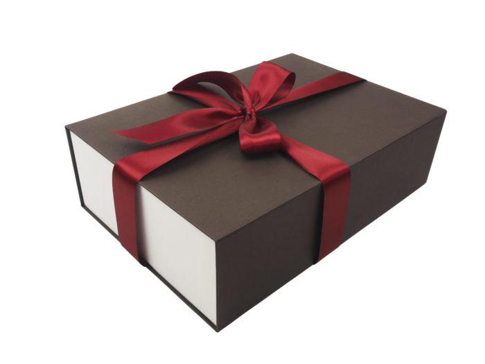 Luxuní potahované krabice s magnetickým víkem