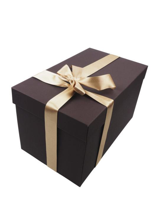 Dárková Krabice se saténem