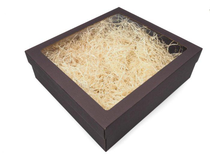 krabice na 3V čoko hnedá