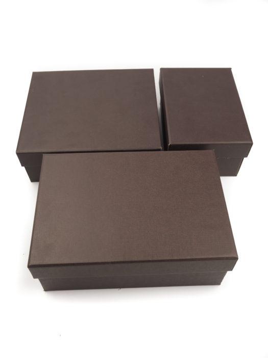Čokoládové krabice se saténem
