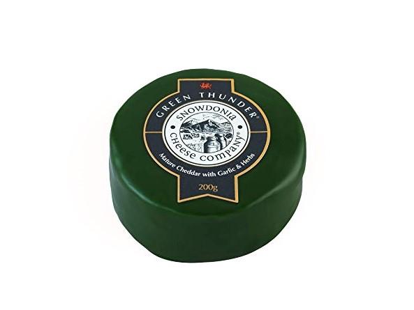 Sýr cheddar Green Thunder