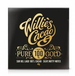 Willies čokoláda 100% Cacao Pure Gold