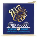 Willie's Cacao Čokoláda Willie's mléčná MILK OF THE GODS, Rio Caribe 44%, 50g
